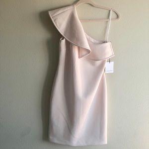SALE! Calvin Klein Pale Pink  Midi Dress! NWT
